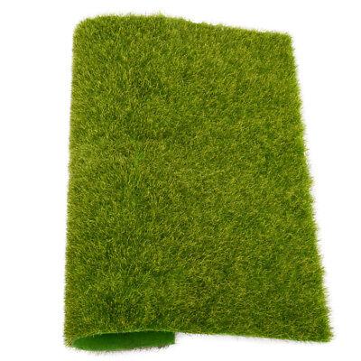 Miniatur Landschaft Moos Rasen Faux Gras Für Puppenhaus Dollhaus Garten Dekor