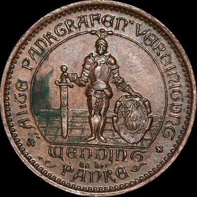WERTMARKE: 15 Pfennig. APV 1381 - ALTE PANKGRAFEN VEREINIGUNG WEDDING ⇒ BERLIN.