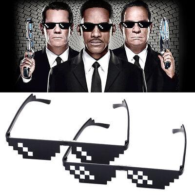 Mosaik Pixel Brille Deal With It 8 Bit Meme Sonnenbrille Thug Life Sunglasses