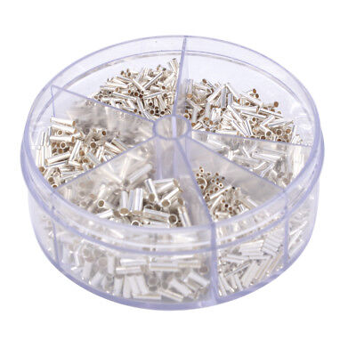 1900x Insulated Cable Lug Wire End Sleeves Ferrules Kit 0.52.5mm Assortment