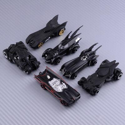 6tlg 1: 64 Film Batman Modellauto Diecast Batmobil Kinder Spielzeug Geschenk
