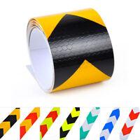 1x Car Night Reflective Safety Warning Conspicuity Tape Strip Arrow Roll Sticker - atmomo - ebay.co.uk