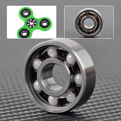 High Speed 608 Hybrid Ceramic Center Bearing for Fidget Finger Spinner Toys Y5B6