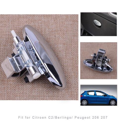 Glove Box Lid Cover Handle Black for Citroen C2 Peugeot 206 207 BERLINGO