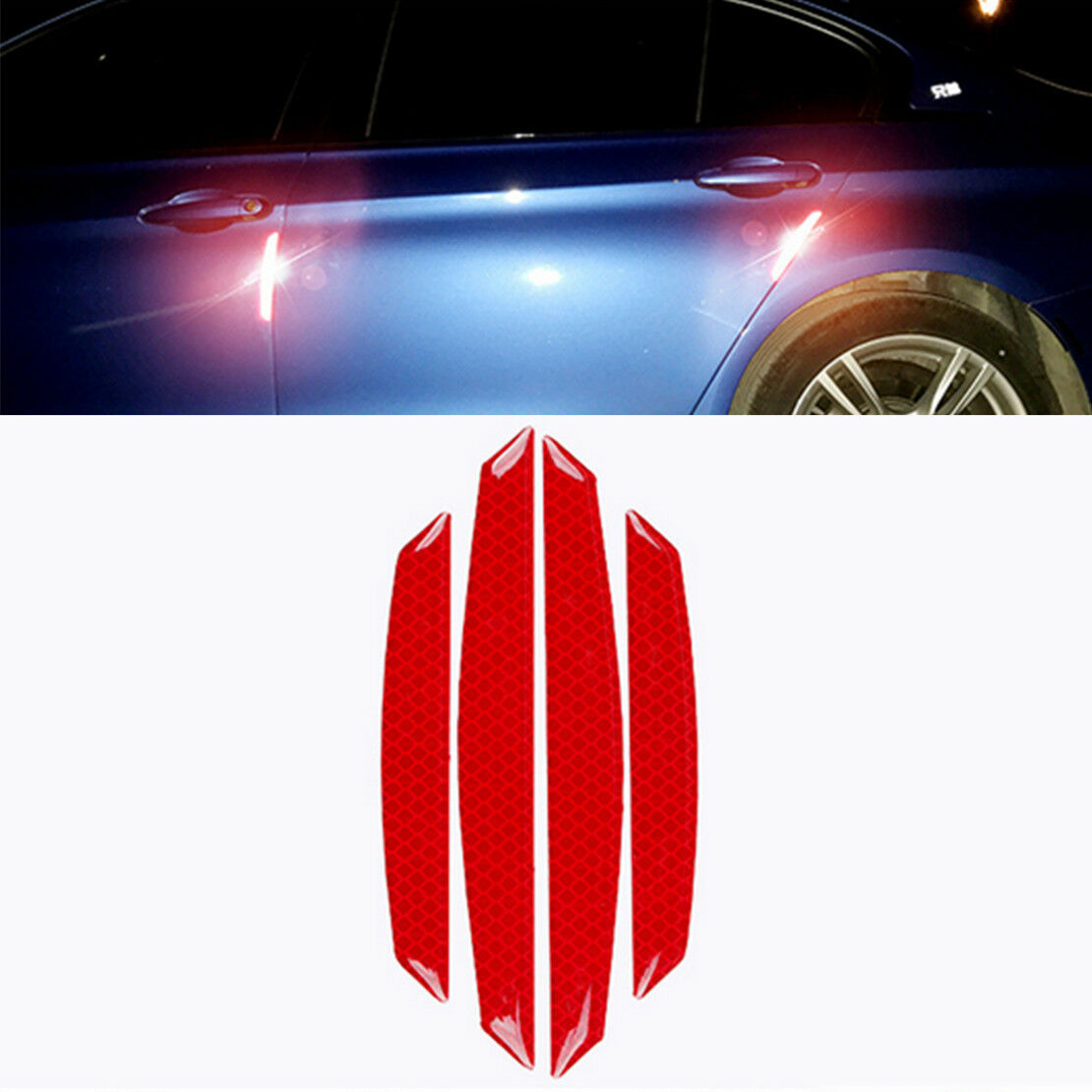4x Car Door Edge Guard Scratch Protector Anti-collision Trim Stickers For Mazda