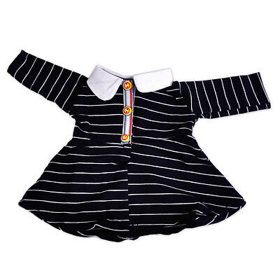 Clothes Casual Wear Skirt Striped Dress fit 18 Inch American Girl Doll Handmade