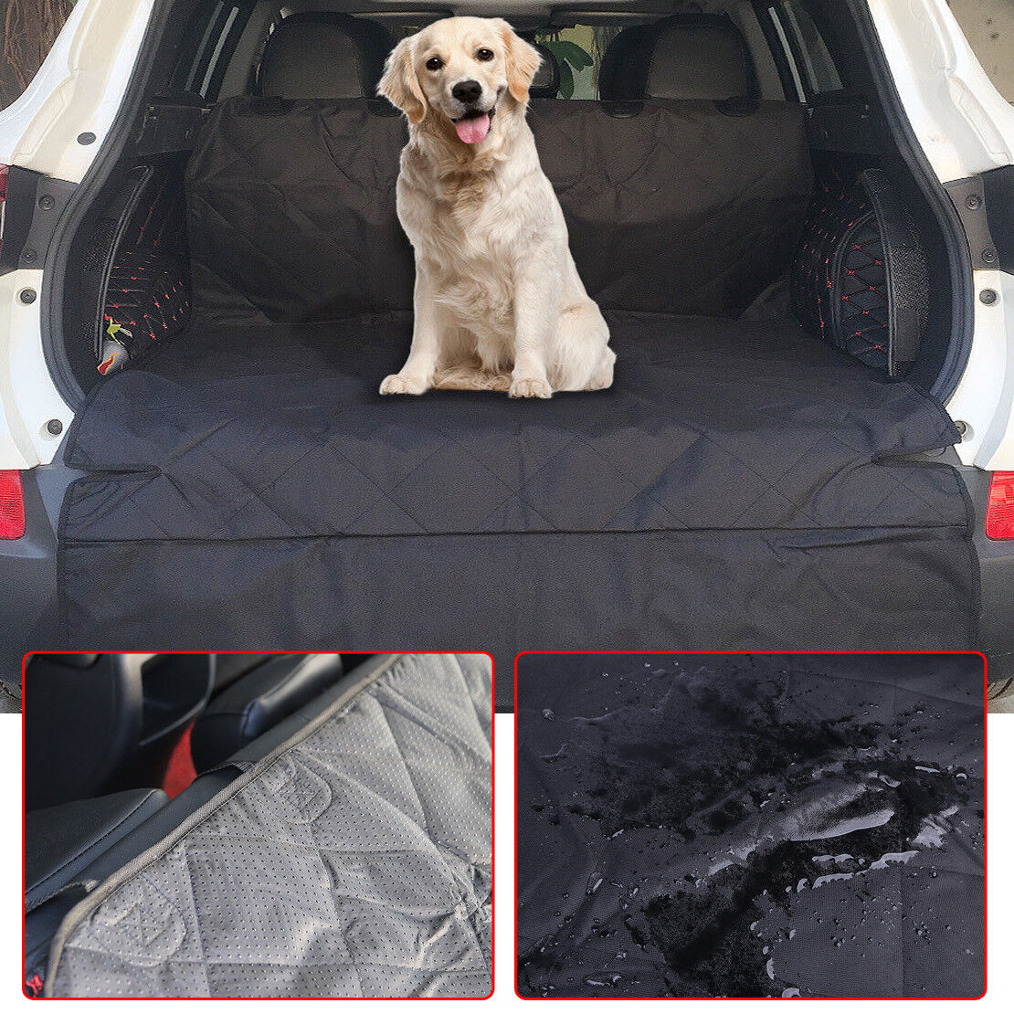 Quilted Pet Dog Boot Liner Protector For Honda CR-V CRV CR V 2012-2017