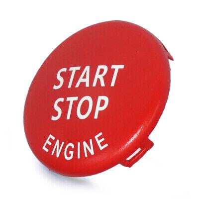 Rot Start-Stop Engine Druckknopf Schalter Deckel Cover für BMW 3 5 Series E90