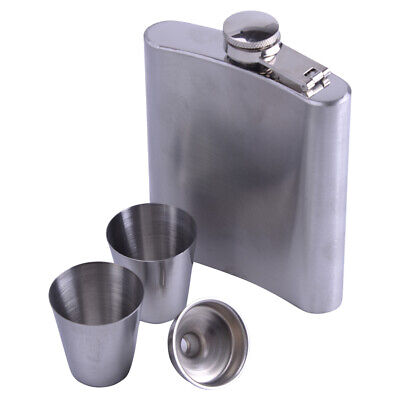 China Whiskey (7oz Stainless Steel Hip Flask Bottle Whiskey Flasks Drink Mug Funnel Cup)
