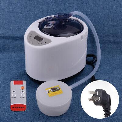 2.6L Portable Steamer Pot Machine Home Spa Steam Bath Sauna Body Slim Generator