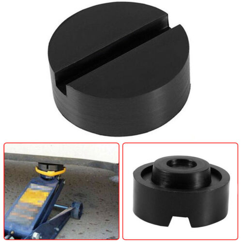XuSha Heavy Duty Jack Rubber Pad Anti-Slip Rail Adapter Support Block for Pinch Weld Side Frame Rail Protector Puck//Pad Adapter 1pc
