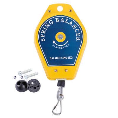 Hot Retractable Spring Balancer Tool Fixtures Holder Strengthen Hanging 3kg-5kg