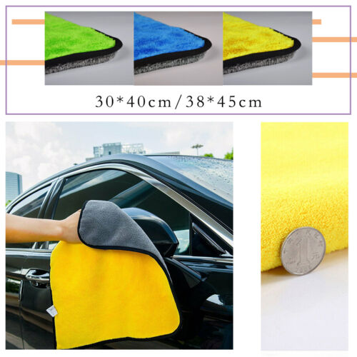 30*40CM Super Absorbent Car Cleaning Towel Wiping Cloth Car Care Coral Velvet