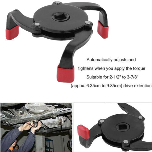 Universal Two Way Oil Filter Wrench Removal Tool Fully