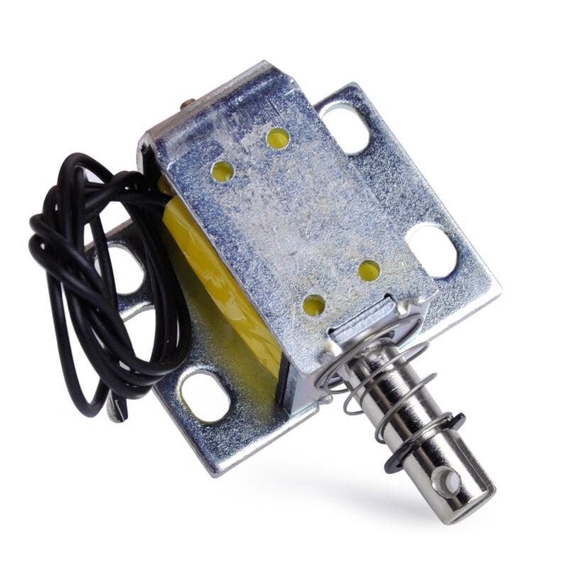 Open Frame Actuator Solenoid Electromagnet 0.8N Holding Push ZYE1-0837ZP DC 12V