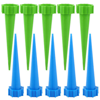 12Pcs Automatic Garden Cone Watering Spike Plant Water Drip Irrigation Bottle