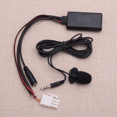 Adaptador cable audio AUX Bluetooth 3 pines+micrófono para Honda Goldwing GL1800