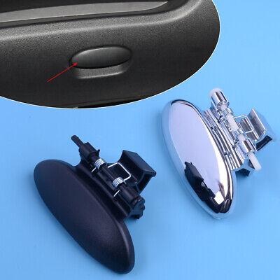 Glove Box Lid Cover Handle Black/Chrome for Citroen C2 Peugeot 206 207 Berlingo