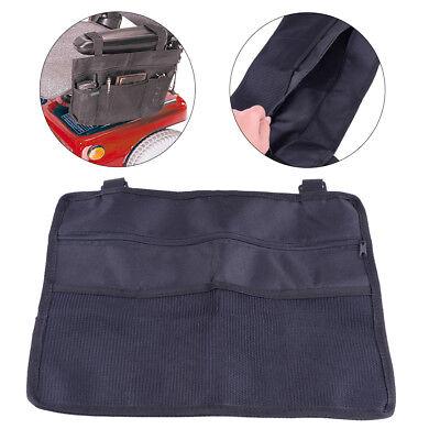 Rollstuhl Seite Tasche (Rollstuhl Seite Armlehne Tasche Organizer Tasche Telefon Halter Scooter schwarz)