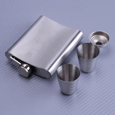 China Whiskey (7oz Stainless Steel Hip Flask Bottle Whiskey Flasks Drink Mug Funnel Cup Hot)