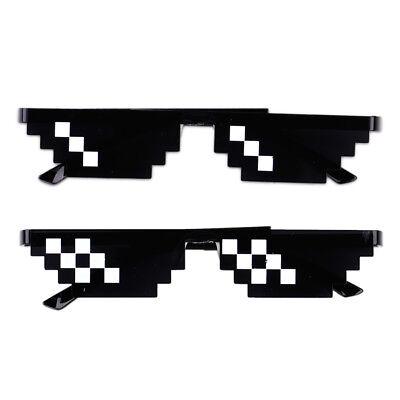 Meme brille Thug Life Brille Deal With It brille Pixel Brille Pixel Sonnenbrille