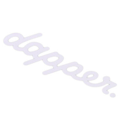 DAPPER Bumper Window Sticker Windshield Car Auto Decor Styling illest Fun Tattoo - Lacrosse Tattoos