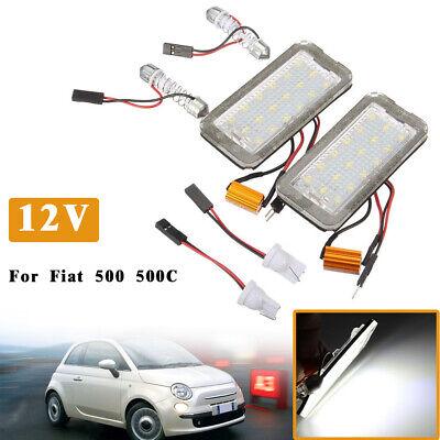 LED Kennzeichenbeleuchtung Modul Fiat 500 500c Cabrio Nummerschildbeleuchtung