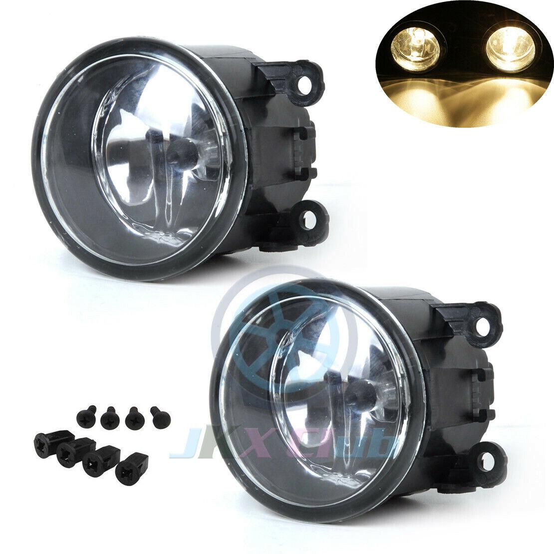 Fog Light Lamp W   Wiring Kit For Mitsubishi Attrage Mirage