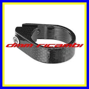 Fascetta-tubo-reggisella-31-8-Bici-Carbon-Look-Strada-MTB-BDC-ghiera-bloccaggio