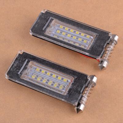 Frei-licht-lampe (Paar 18 LED Lizenz Fehlerfrei für MINI Cooper R56 R57 R58 R59 Platte Licht)