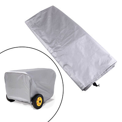 Weather-resistant Dustproof 25 Grey Storage Cover For Portable Generator