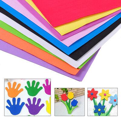 10Pcs DIY Foam Sheets A4 Handmade Paper Fun Funky Children Kids Hand - Fun Foam Sheets