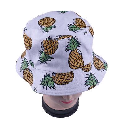 Druck Eimer Fischen Fischerhut Hat Cap Sonnenhut (Ananas Hats)