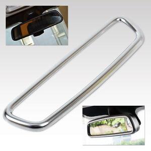 New Car Chrome Interior Rear View Mirror Cover Trim For Land Rover Sport Evoque