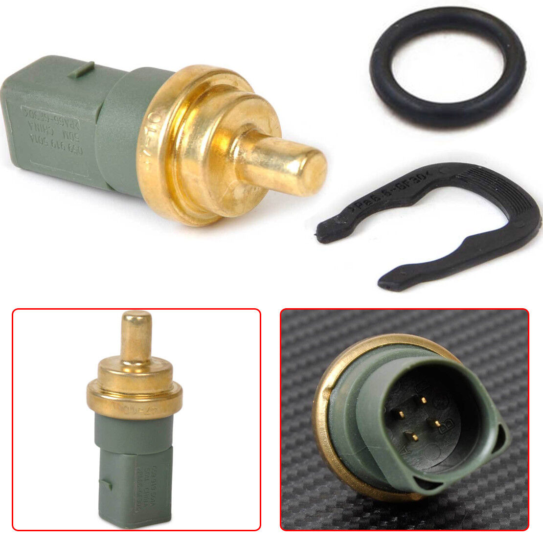 For Audi VW Coolant Temp Sensor Water Temperature Switch 059919501A