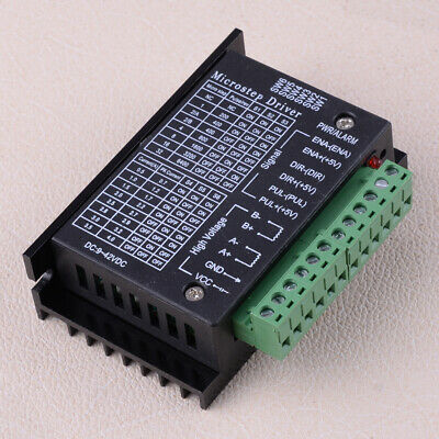 Single Tb6600 Stepper Motor Driver Controller Micro-step Cnc Axis 2 Phase New