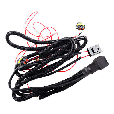 Car Fog Light Wiring Cable Harness Fit For VW Golf Jetta Passat...