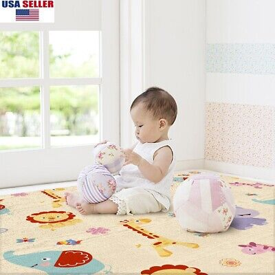 Baby Play Mat Soft Foam Waterproof Infants Crawling Mat Toddle Playmat Nontoxic
