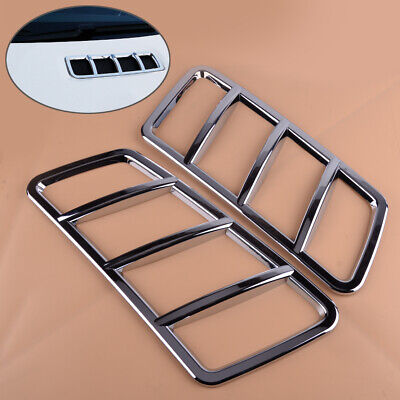 2x Hood Motor Air Vent Outlet Abdeckleiste Für Mercedes-Benz ML W166 GLS GLE