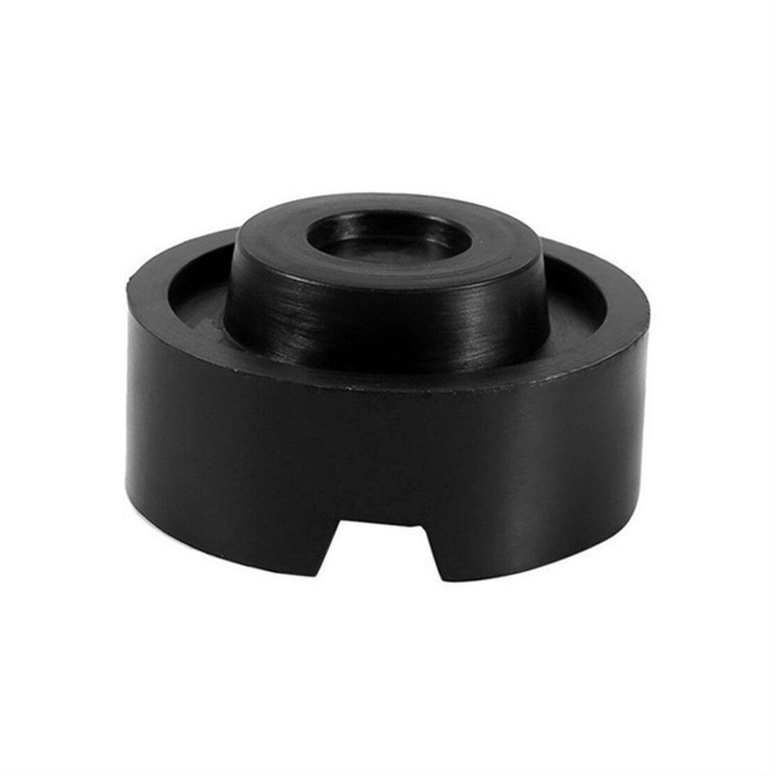 Slotted Frame Rail Floor Jack Lift Rubber Pad Adapter For