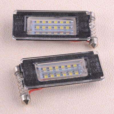 Frei-licht-lampe (für MINI Cooper R56 R57 R58 R59 Fehlerfrei 18LED Kennzeichenbeleuchtung 2 Lizenz)