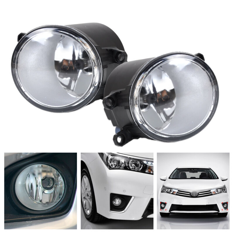 Left +Right Fog light Lamp for Toyota Corolla Camry Yaris Lexus GS350 GS450h