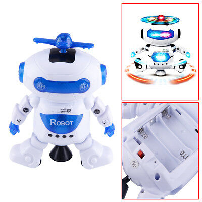 Toys for Boys Robot Kids Toddler Dance Music Flash Light Toy Cool Xmas Gift New