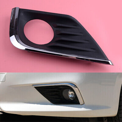Left Front Bumper Fog Lamp Bezel Cover Fit For Nissan Altima 2016-18 Plastic ge