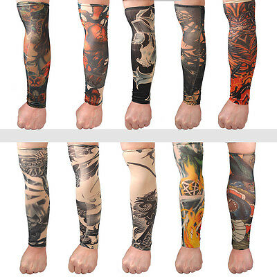 Tattoo Ärmel Arm Sleeve Strümpfe Tätowierung Anziehen Kostüme Tattooärmel