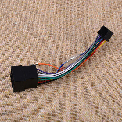 Fit for Pioneer DEH/MVH/SPH ISO Wiring Harness Connector Adaptor Lead Loom Cable