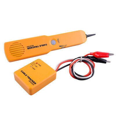 Rj11 Cable Finder Tone Generator Probe Tracker Wire Network Tester Tracer Tools