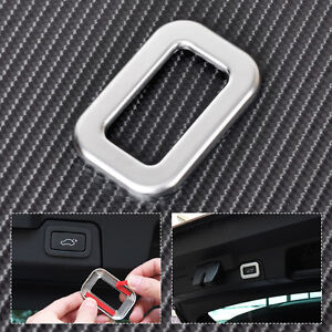 Rear Trunk Switch Button Frame Cover Trim for Range Rover Sport EVOQUE 2014-2015