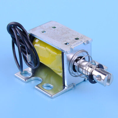 Zye1-0837zp Dc 12v Open Frame Solenoid Electromagnet 0.8n Holding Push Type