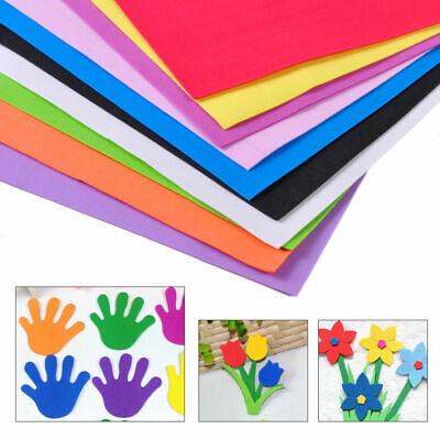 10Pcs DIY Foam Sheets A4 Handmade Paper Fun Funky Children Kids Hand Craft](Fun Foam Sheets)